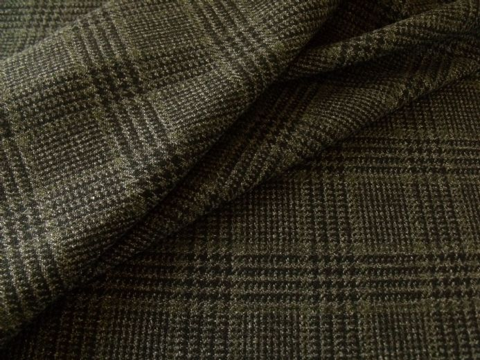 Tweed Glen Check Design Fabric  2.3 m  AB35